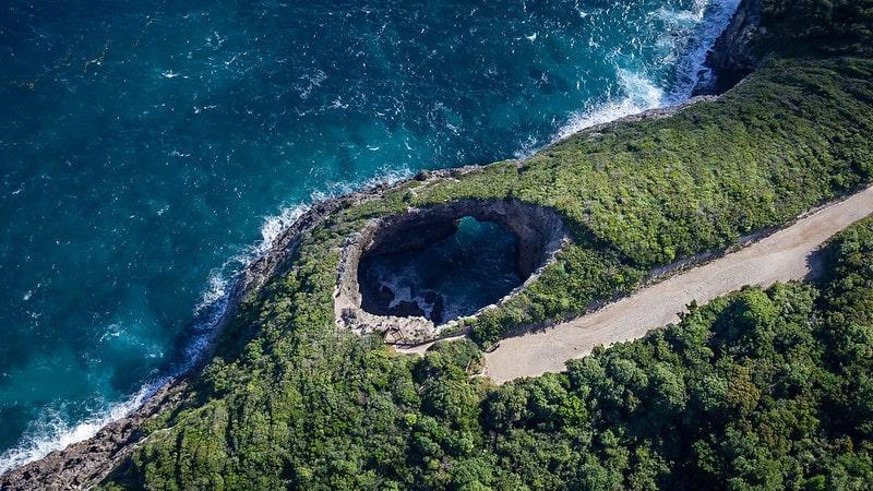 Un des plus beaux gouffres du Monde en Guadeloupe