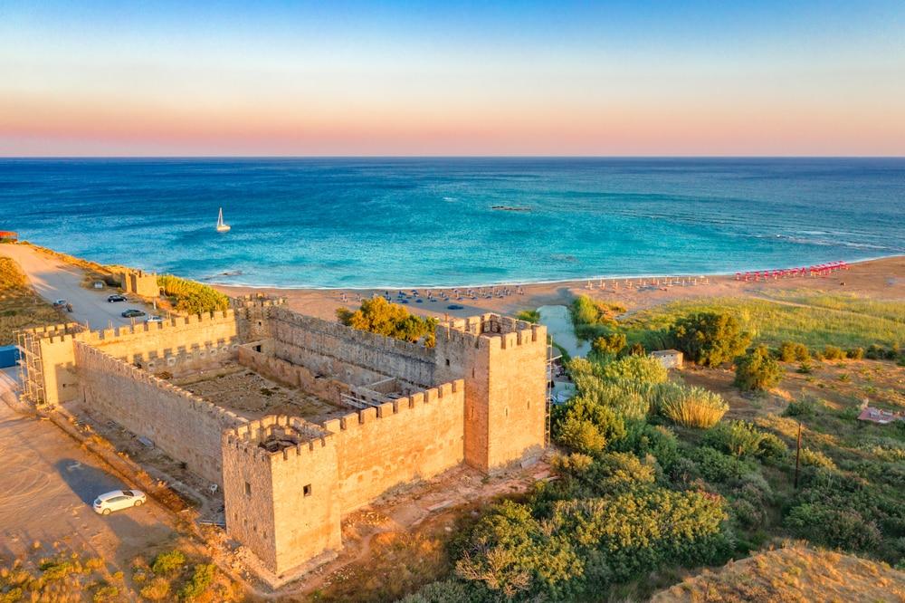Le fort de Frangokastello proche d'Héraklion