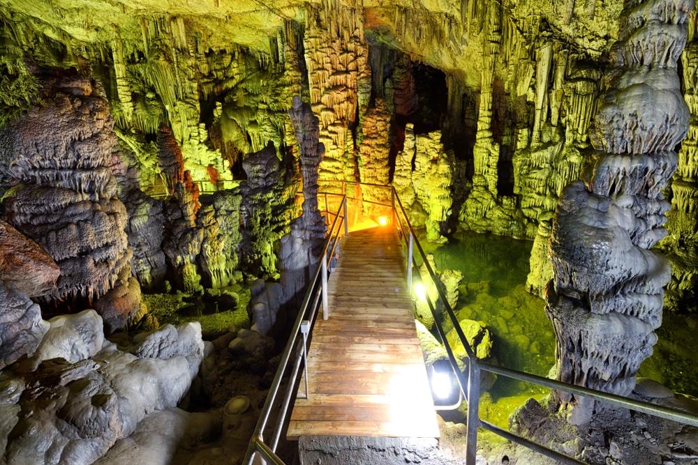 La grotte de Zeus