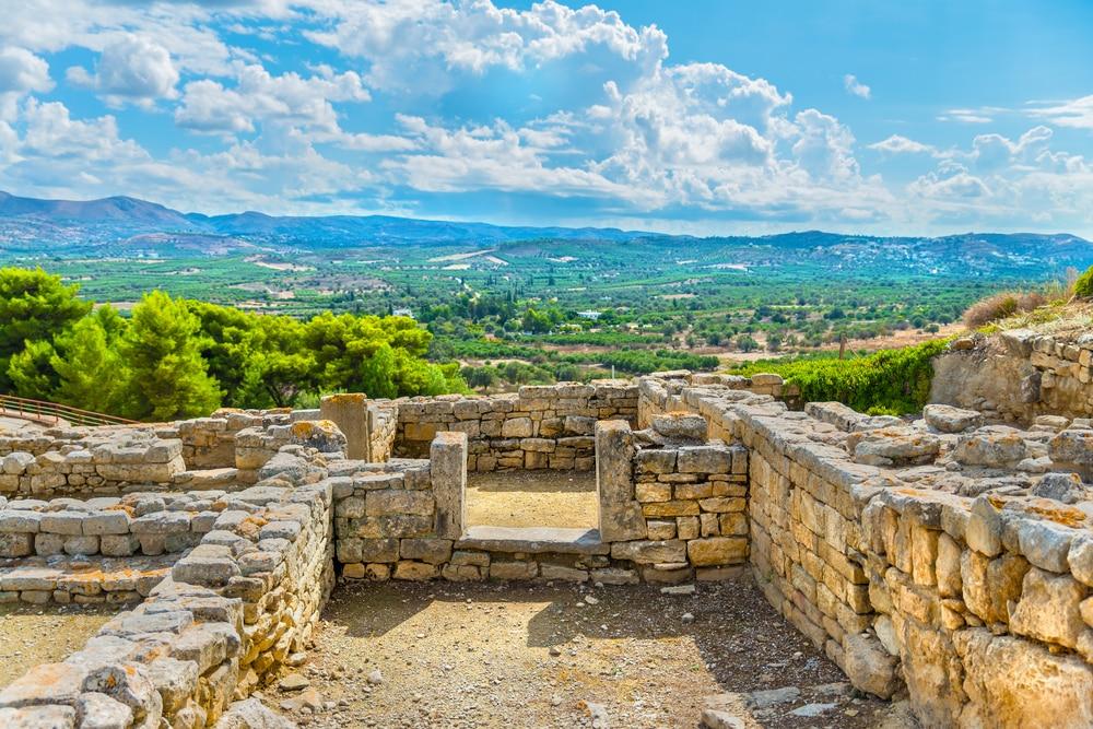 Excursion à la plaine de la Messara proche d'Héraklion
