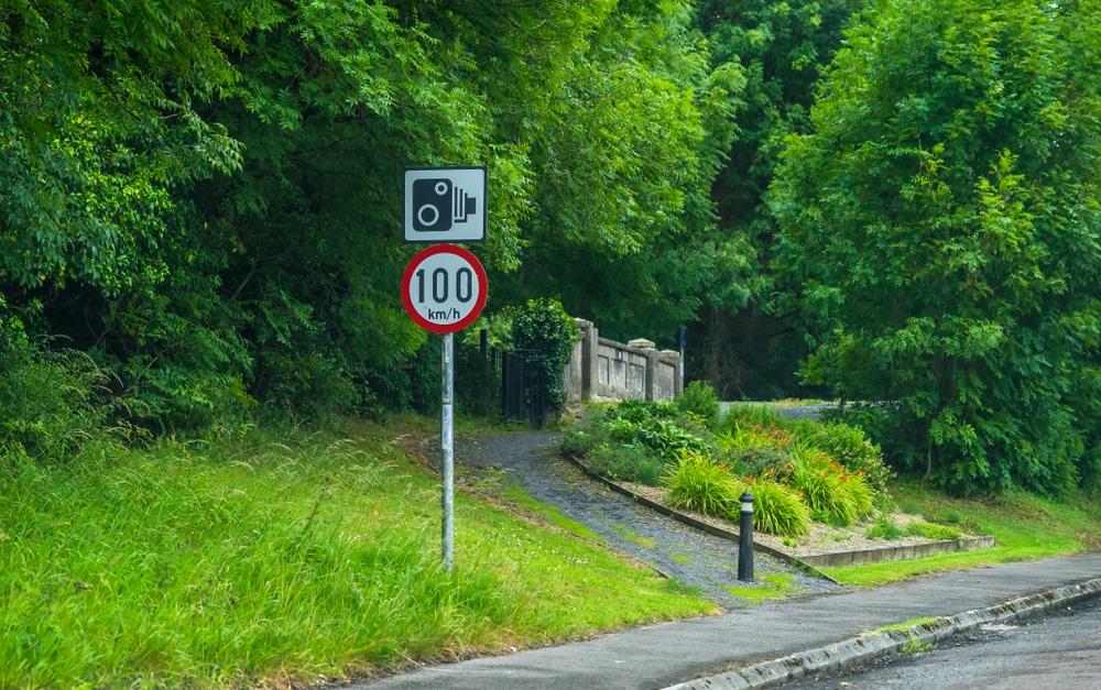 Limitations de vitesse en Irlande