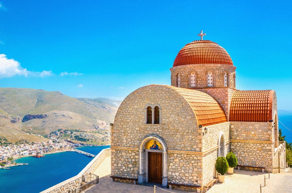 Visiter Le Monastère de Agios Savvas à Kalymnos