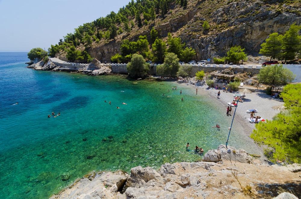 Visiter les plages de Kalymnos