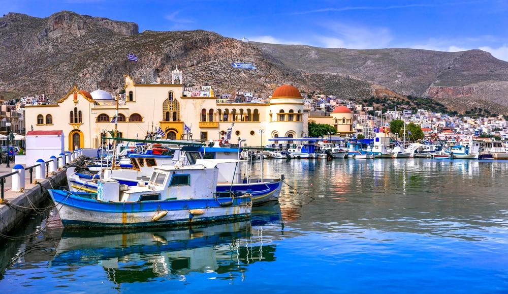 Visiter Pothia près de Kalymnos