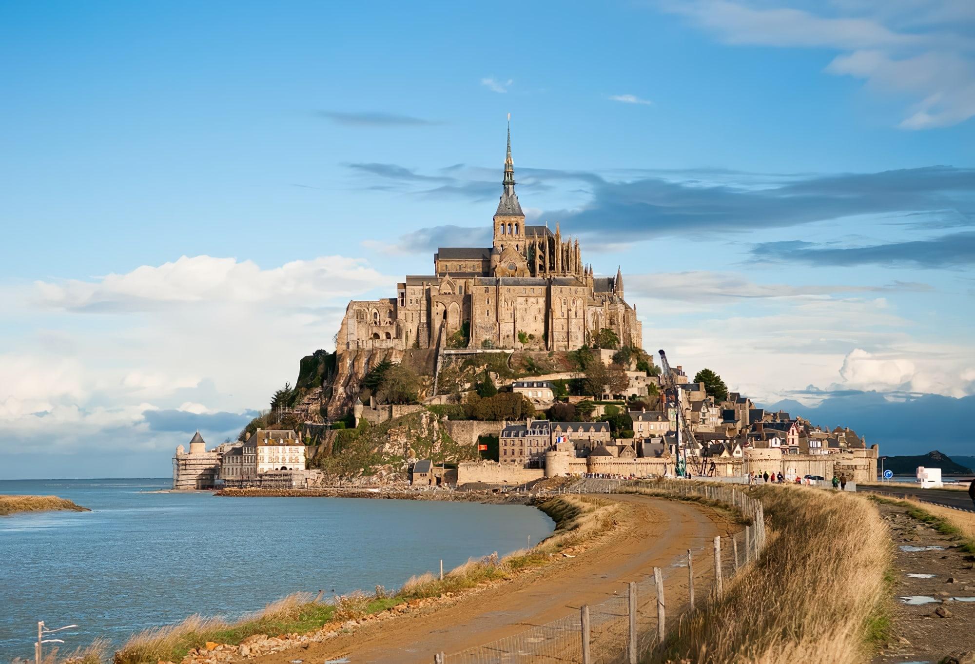 Le Mont-Saint-Michel en camping-car