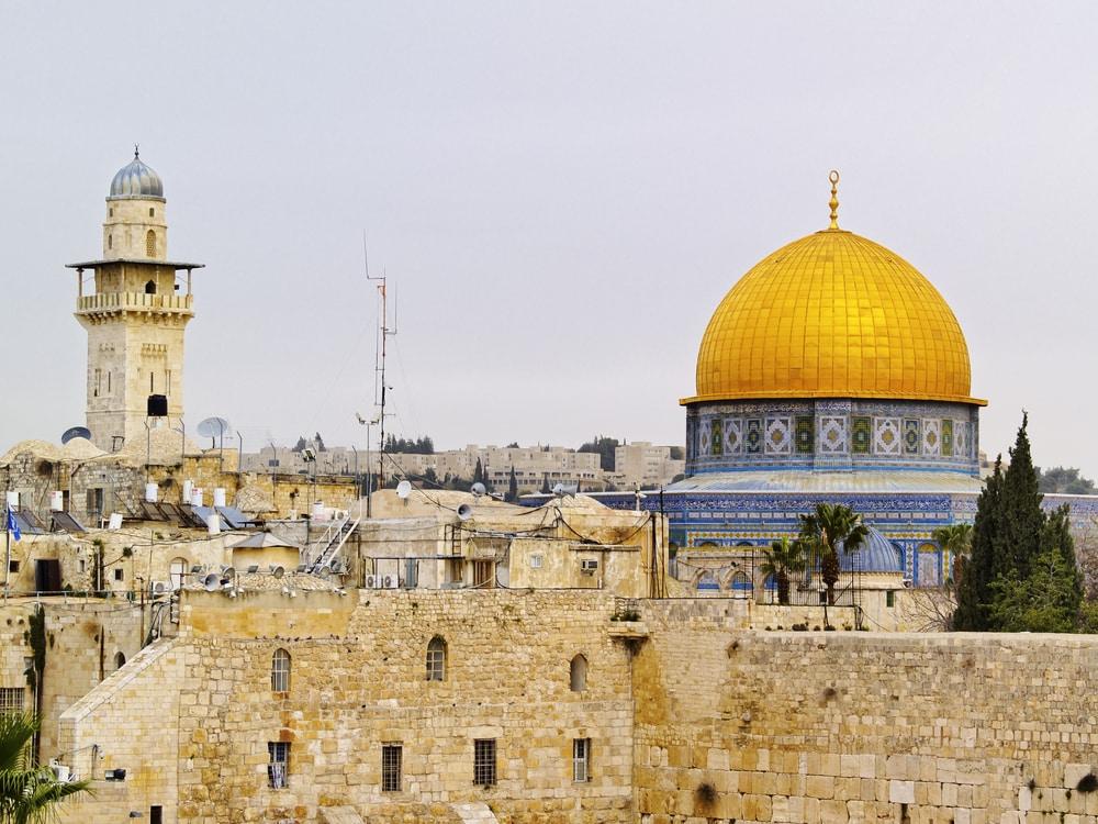 La durée d'une visite du Mur des Lamentations à Jérusalem