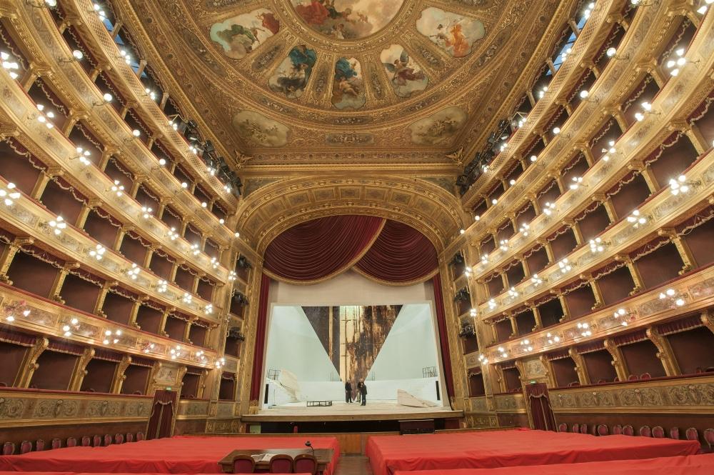 L'intérieur du Théâtre de Palerme