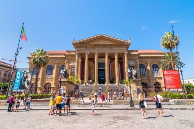 Visiter le Théâtre de Palerme : billets, tarifs, horaires