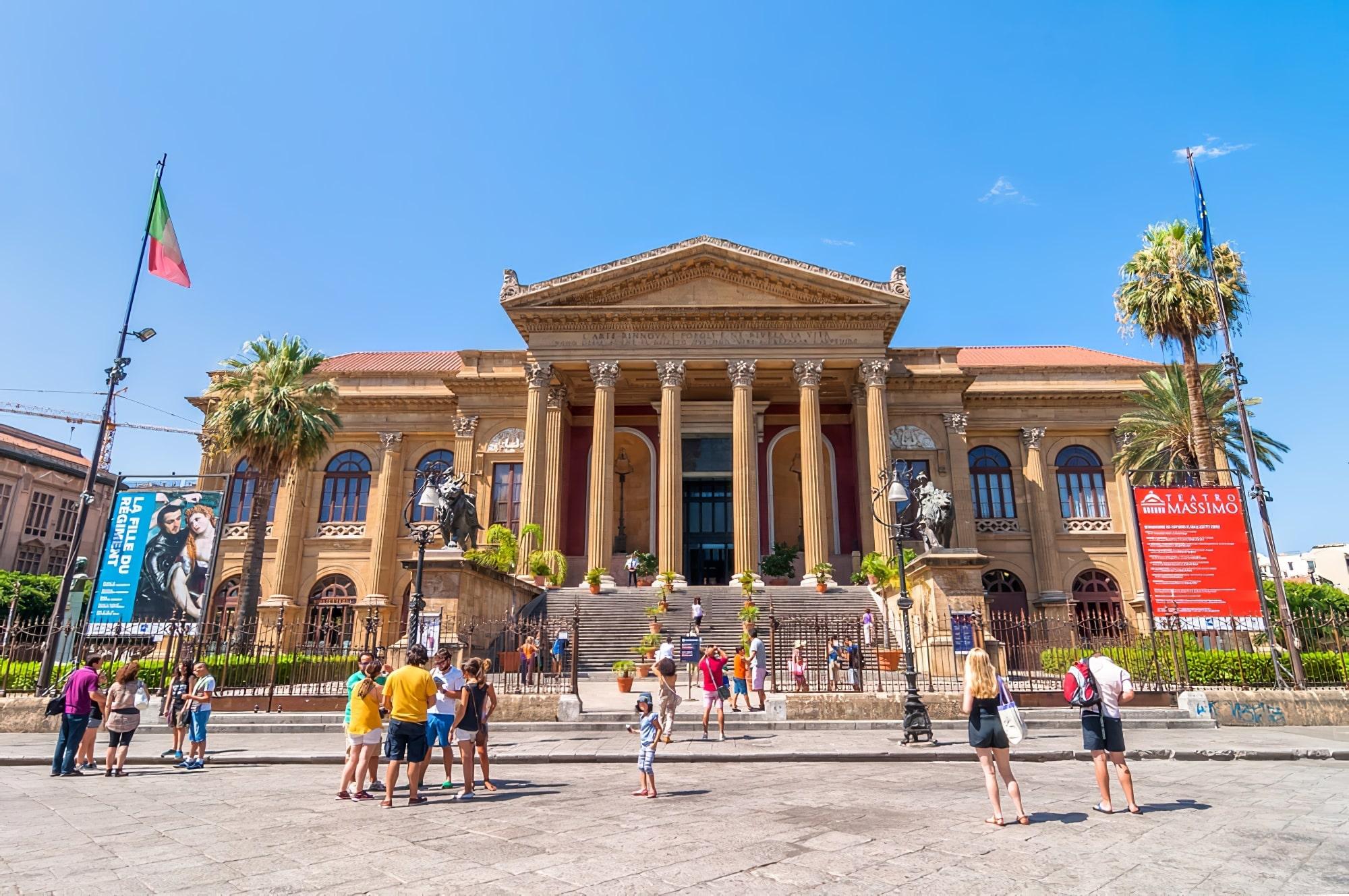 Visite guidée du Théâtre de Palerme