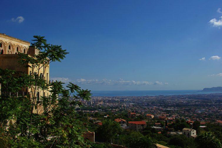 Le Belvédère de Monreale, avec vue sur la Conca d'Oro