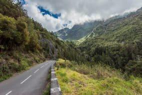 Route vers Cilaos, La Réunion