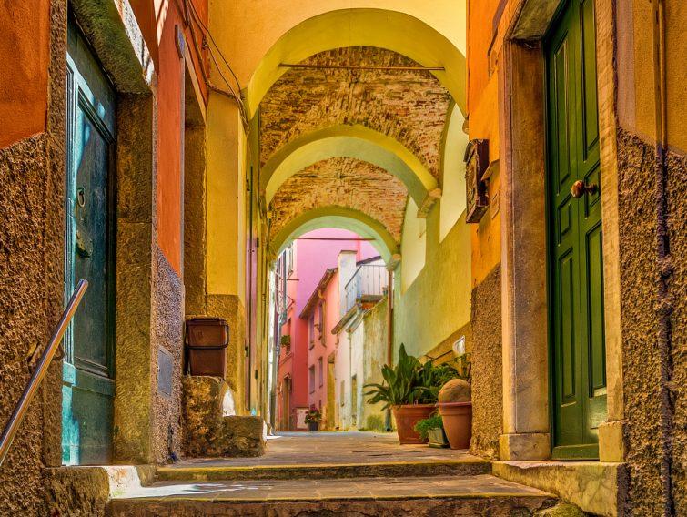 Dans les rues de Riomaggiore, Cinque Terre