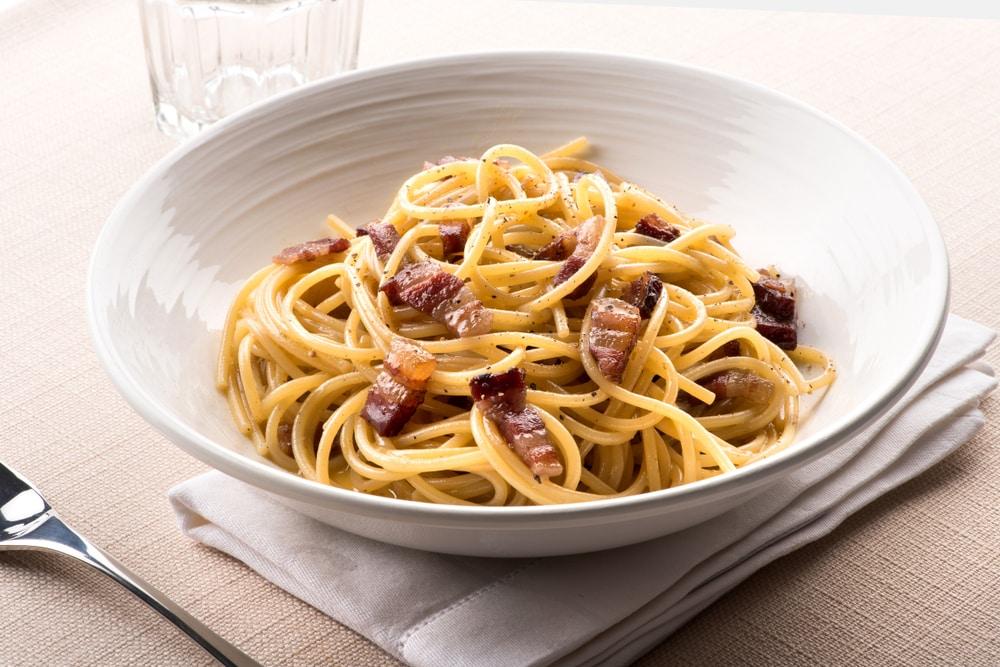Les fameuses Spaghetti à la Carbonara