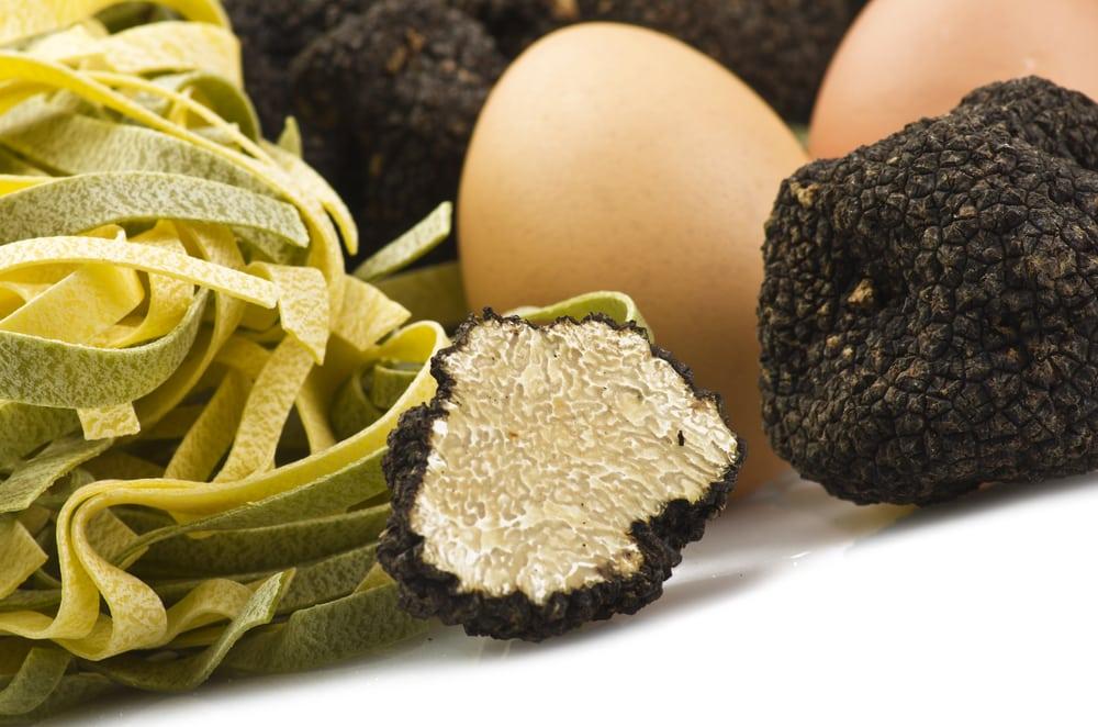 La truffe, spécialité de l'Ombrie