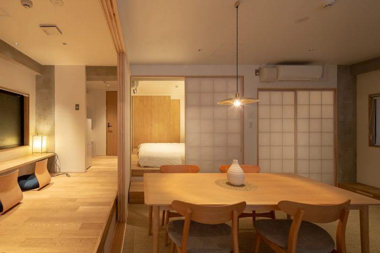 Appartement japonais minimaliste