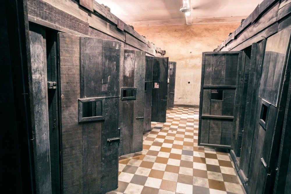 Tuol Sleng - Cambodge, prison Khmers Rouges