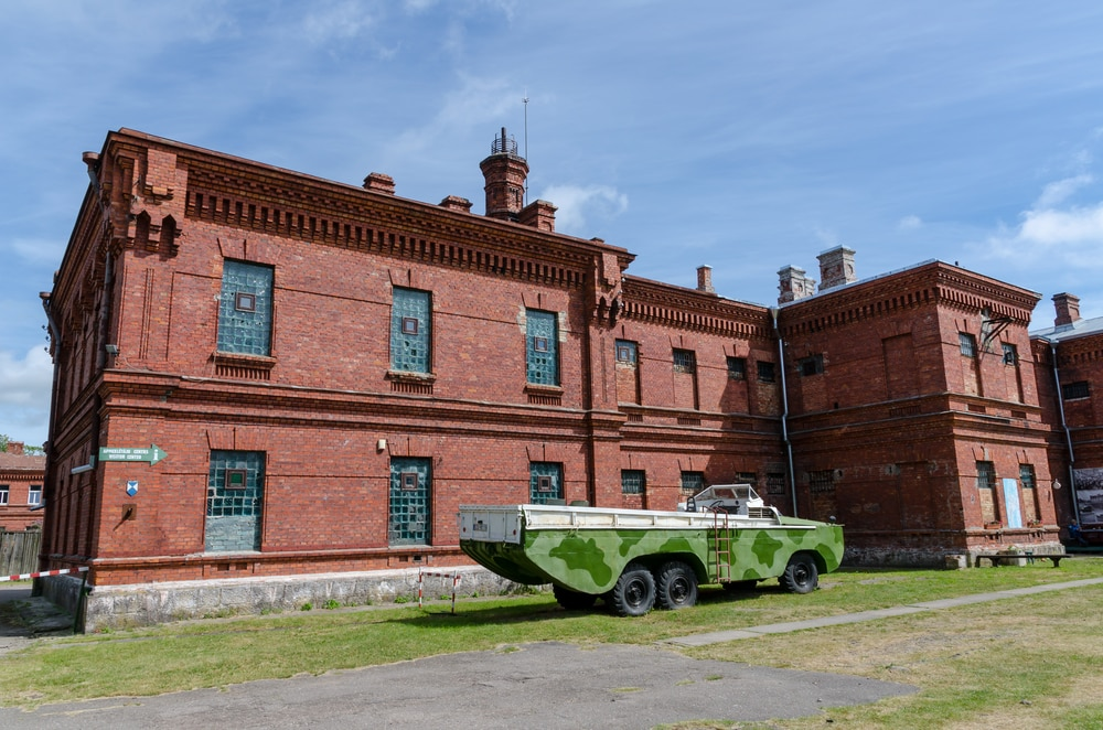 Karosta prison en Lettonie