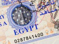 Visa pour l'Egypte
