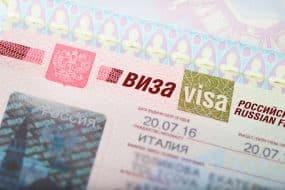 Visa pour la Russie