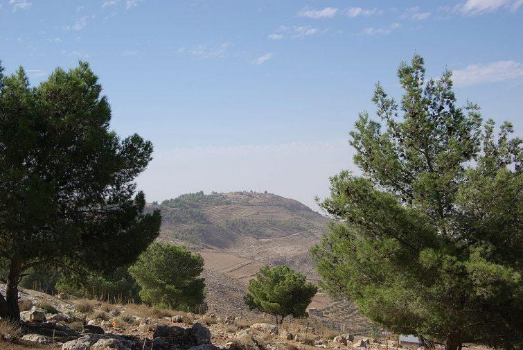 Vue sur le Mont Nébo