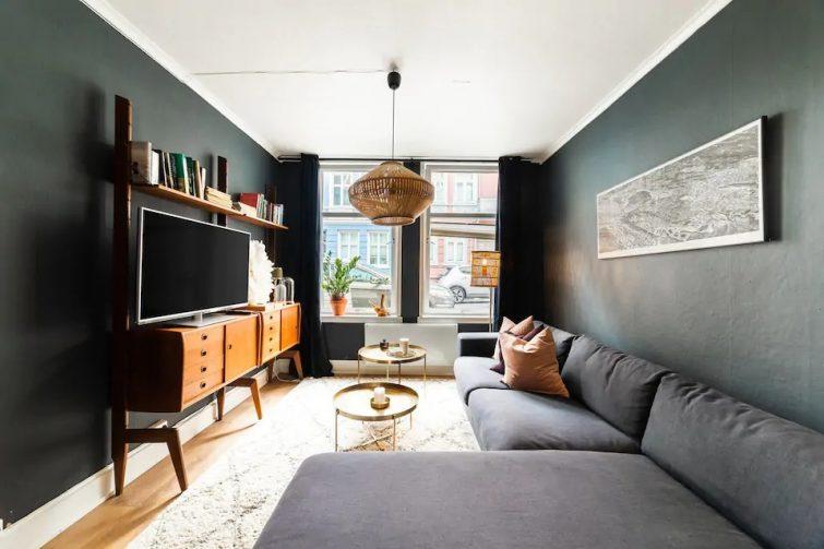 Appartement en plein centre avec cour