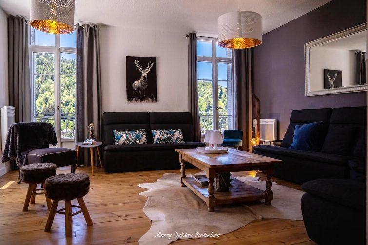 Gîte de charme 4 * Mont-Dore-Vue superbe🏔 Garage - Airbnb Volcans d'Auvergne