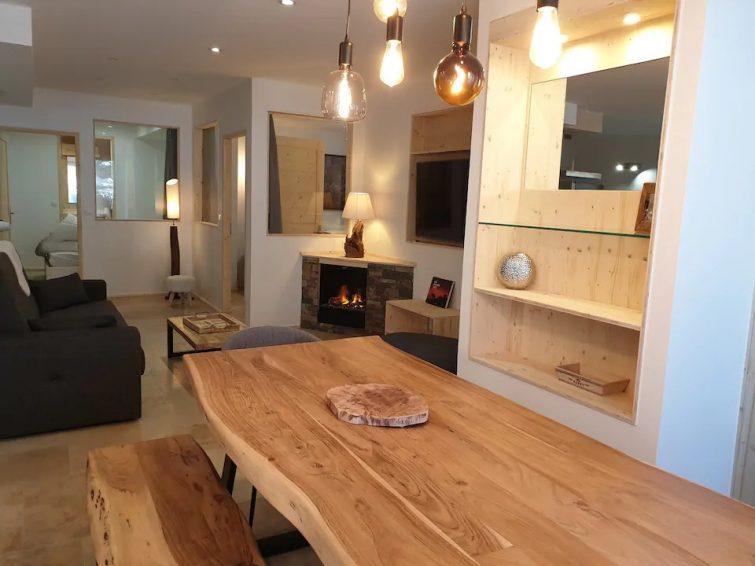 VALBERG Appartement 105m2 refait à neuf 3 étoiles