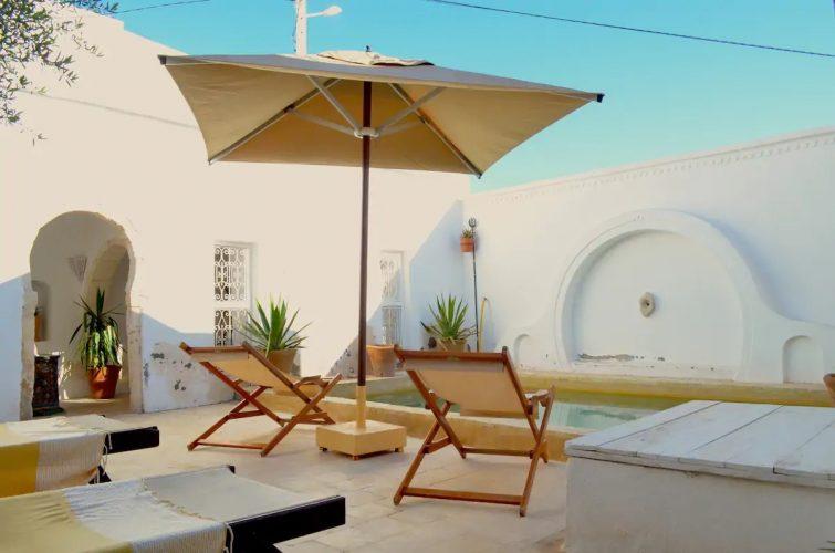 Dar el Henna, Djerbahood, quartier Erriadh - Airbnb Djerba