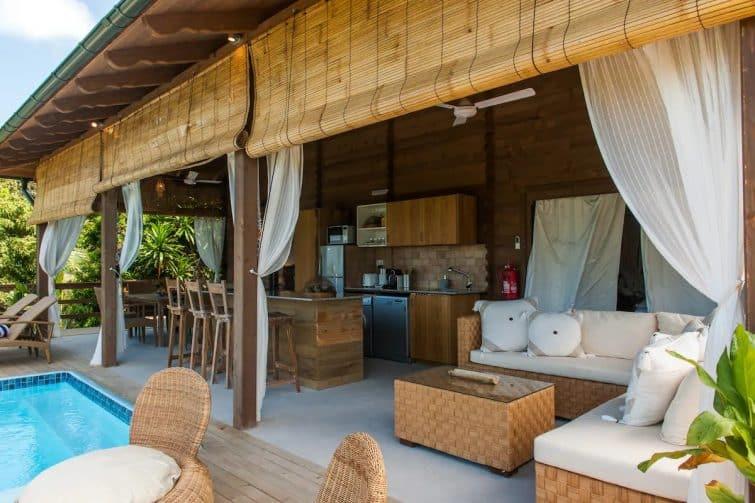 Veuve Noire Beach Hut