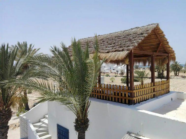 Maison au bord de la mer à Djerba