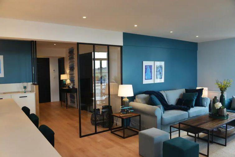 Bel appartement avec vue