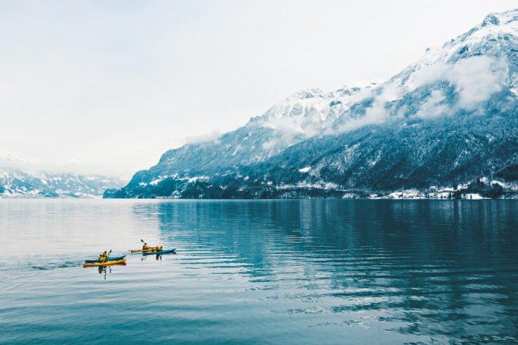 Canoë-kayak Interlaken activité outdoor