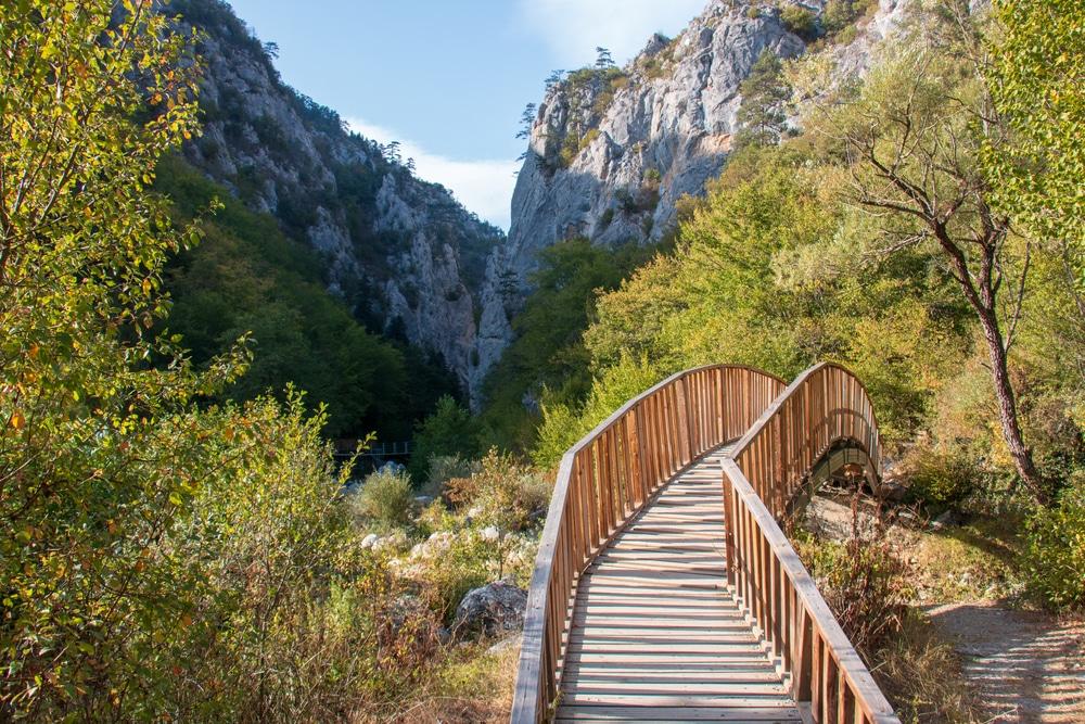 Canyon d'Horma, Parc national des Monts Kure