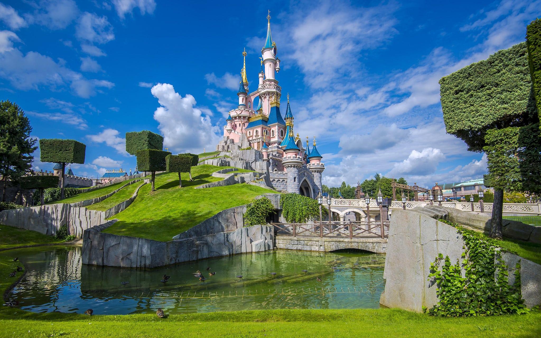 Disneyland Paris endroits instagrammés