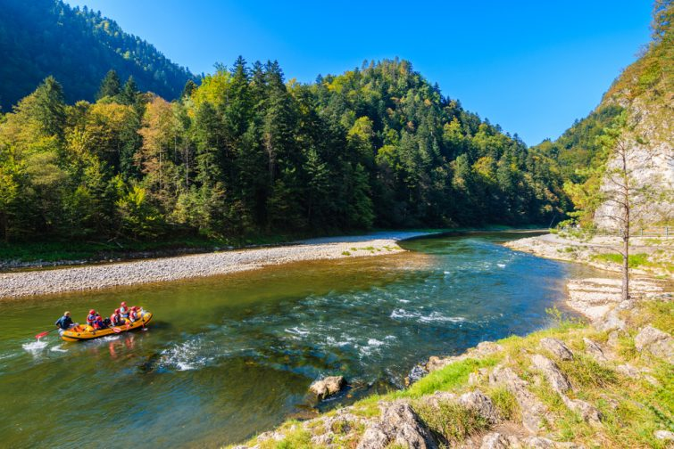 Dunajec-pologne-excursions Cracovie