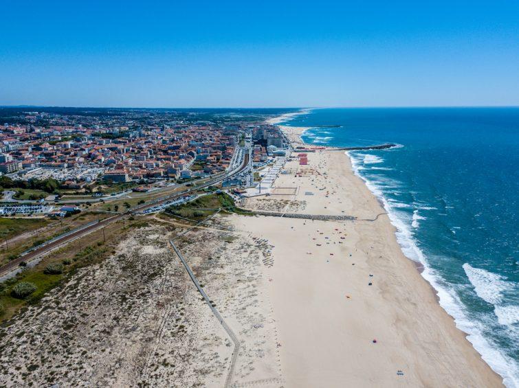 Espinho beach - Porto - Portugal