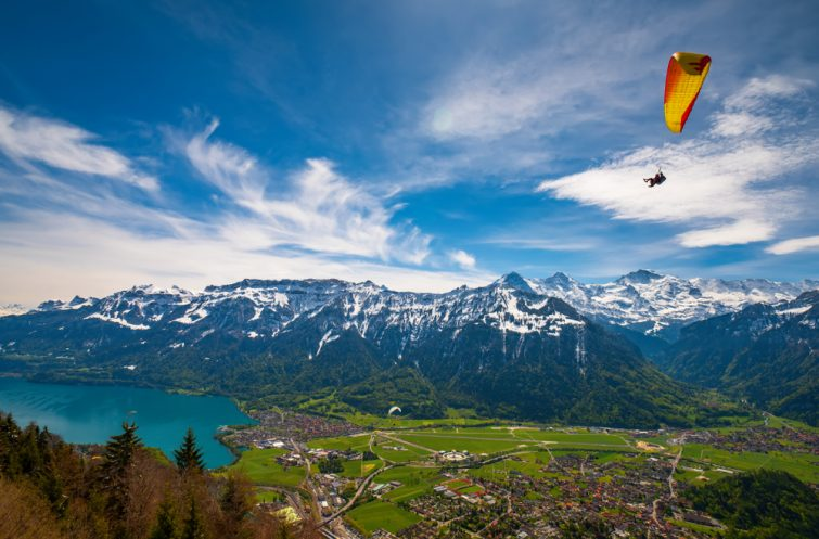 Parachutisme Interlaken activité outdoor