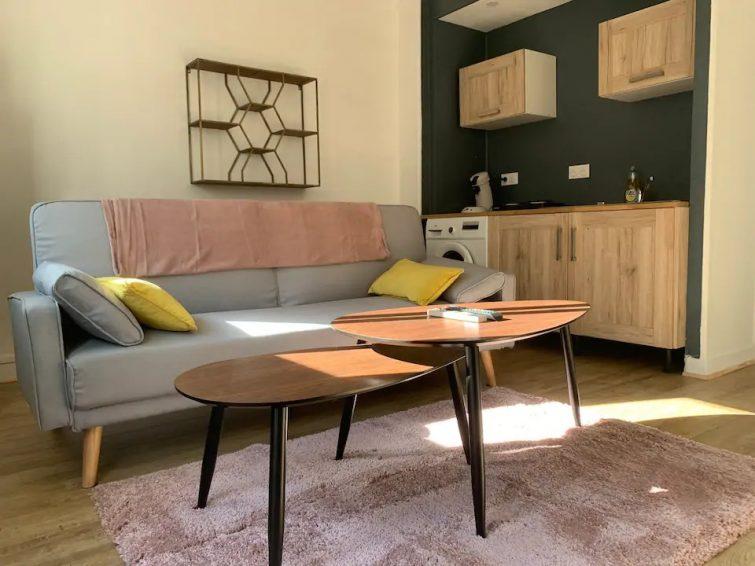 Bel appartement à 150 mètres de la plage airbnb Saint-Valery-en-Caux