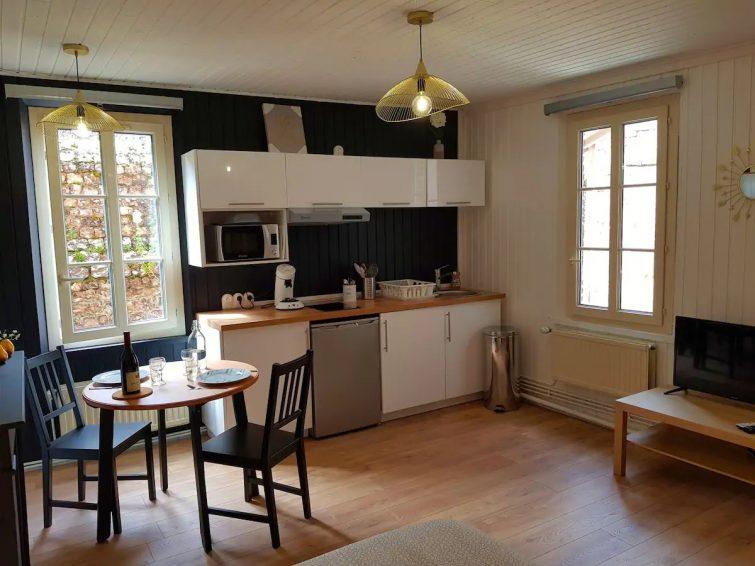 Studio cosy sur les quais airbnb Saint-Valery-en-Caux