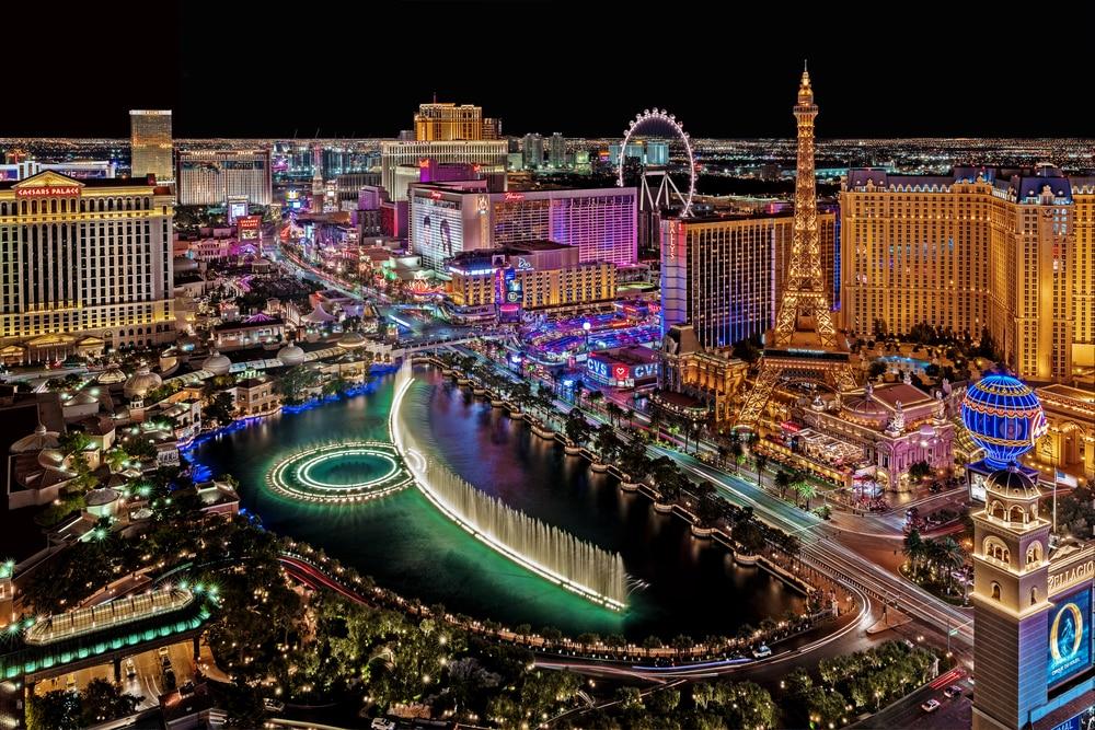 Strip Las Vegas lieux instagrammés