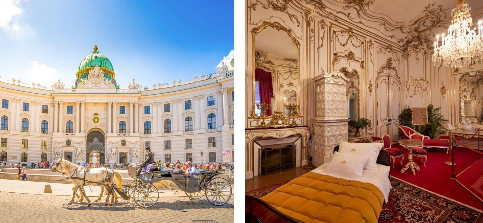 Palais d'Hofburg - Sissi l'impératrice