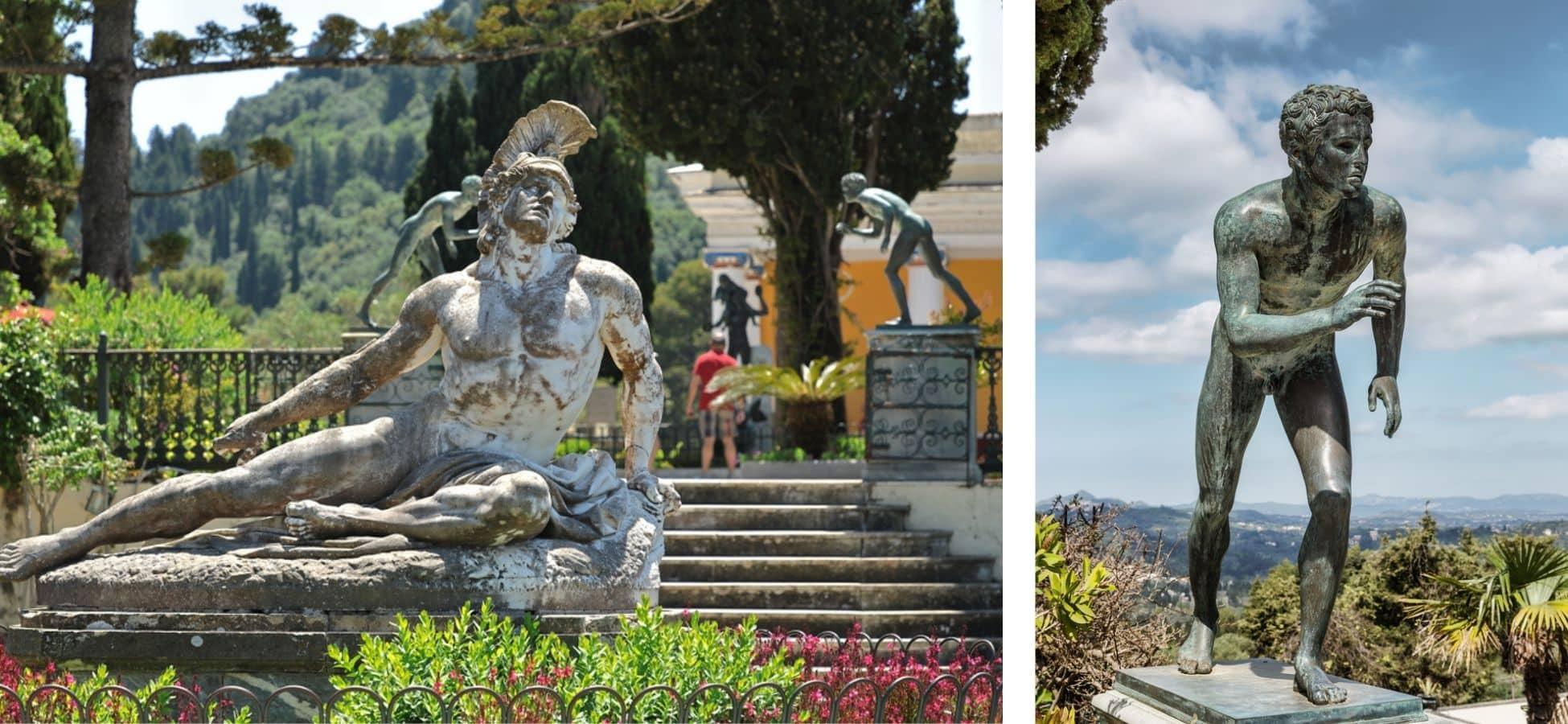 Statue d'Ulysse - Sissi l'impératrice