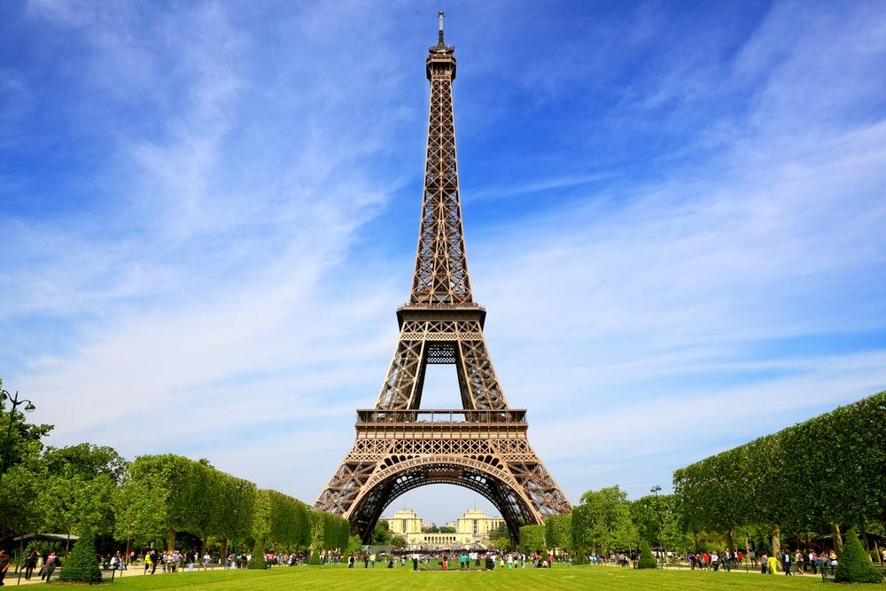 Tour Eiffel endroits instagrammés
