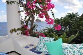 Airbnb aux Îles Eoliennes avec vue exceptionnelle