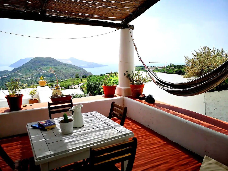 Airbnb de rêve aux Îles Eoliennes