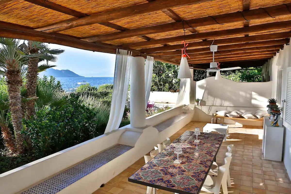 Exceptionnel Airbnb aux Îles Eoliennes