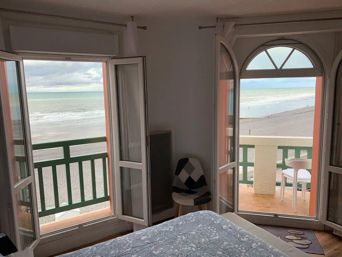 Appartement de 40m² avec vue panoramique sur la mer