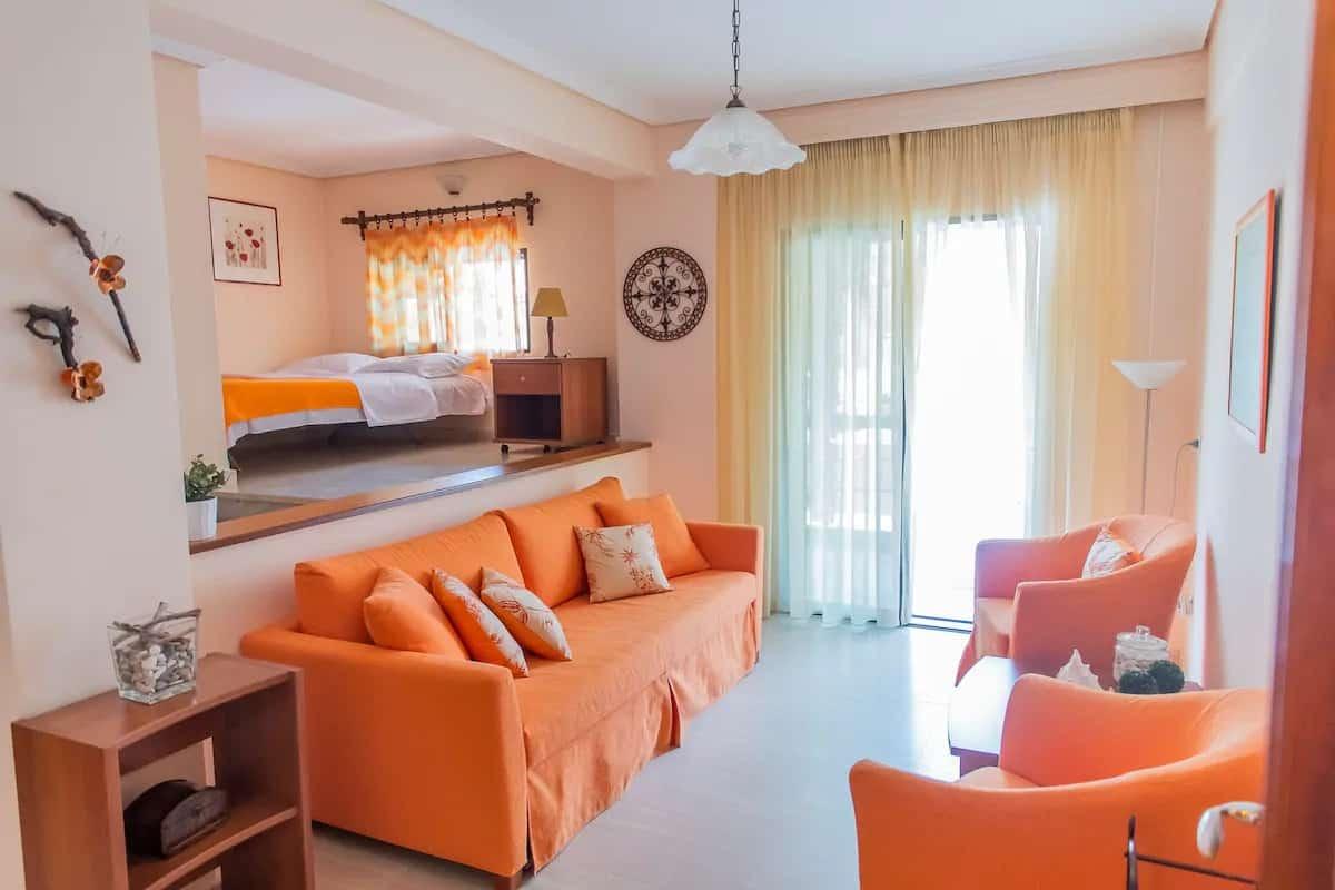 2ème appartement pour un séjour dans les montagnes grecques
