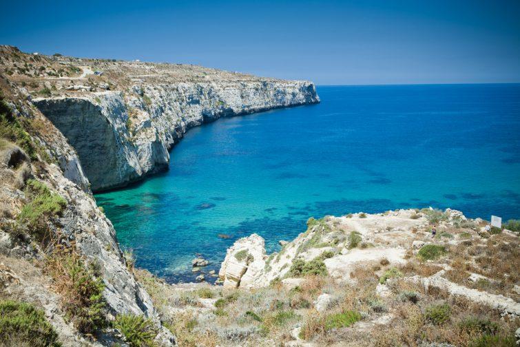 Baie de Gozo, Malte