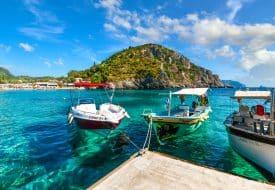 Balade en bateau autour de l'île